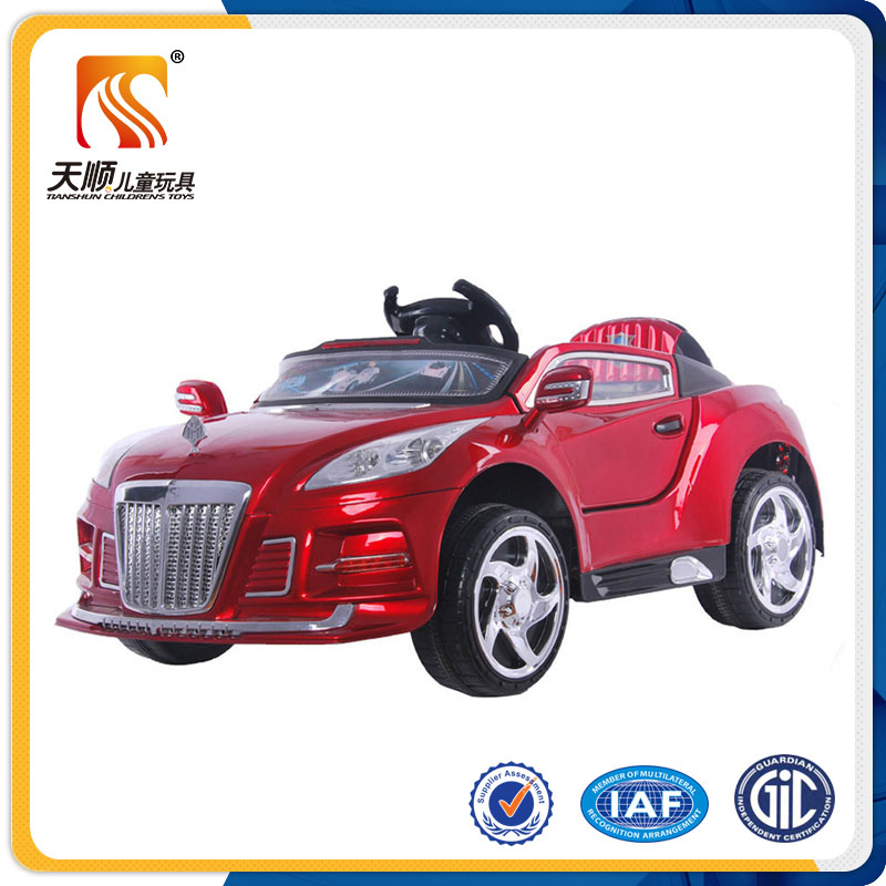 tian shun 2016 children electronic toy car cheap price kids