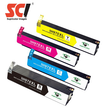 Supricolor new ink cartridge 975 975xl compatible For HP PageWide Pro 452dw 552dw 477dw 577dw 577z