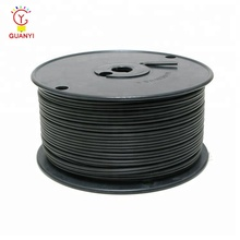 Black 18AWG SPT1/2 PVC 보온 300 V 동 Electrical Cable Wire