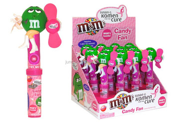 M&m Susan G. Komen Candy Toy Fan.