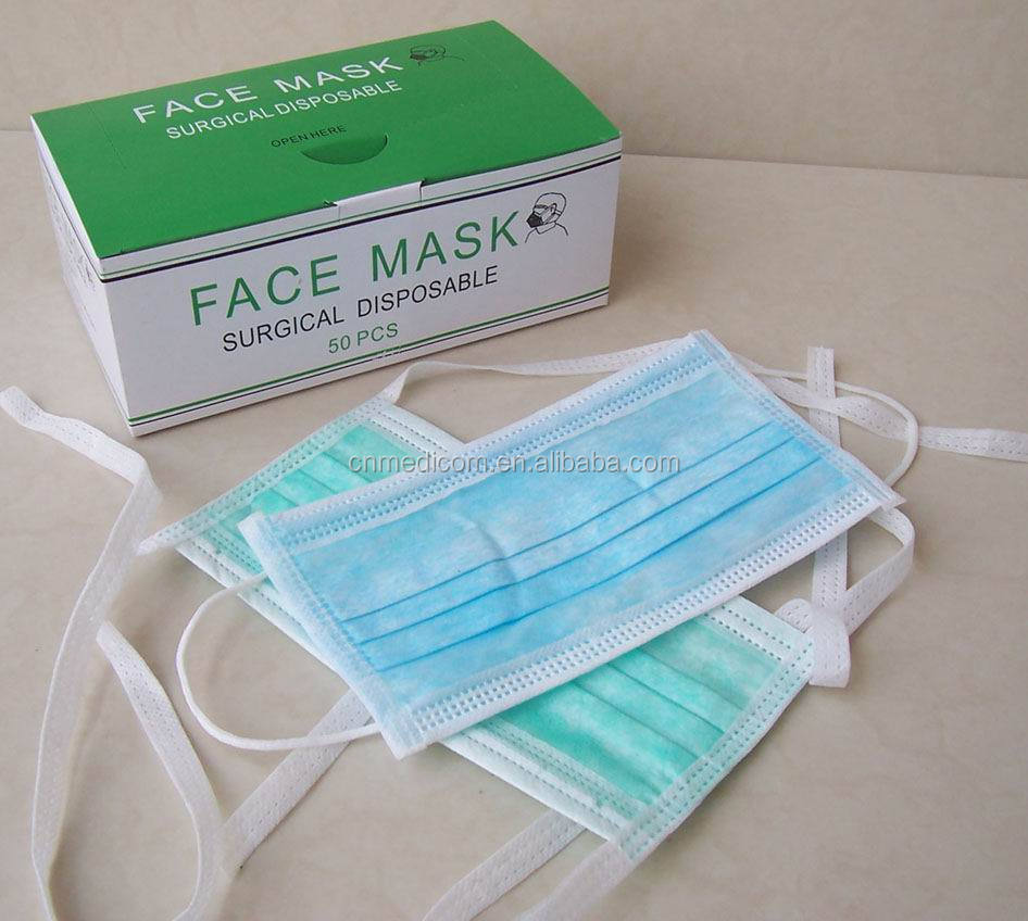 Disposable 3ply Anti flu Mask/H1N1 High Quality Nonwoven Face Mask