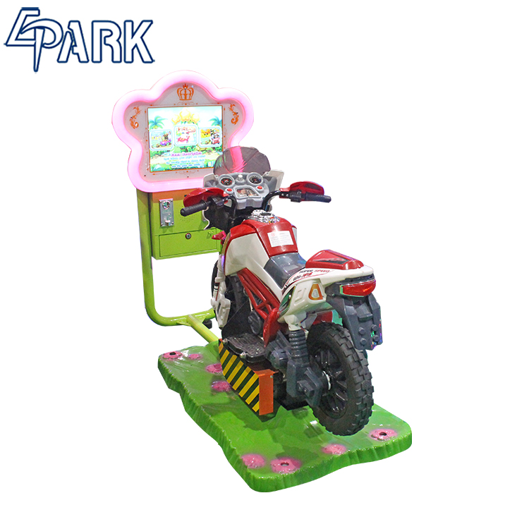 EPARK new arrival racing arcade machine Full Motion Street Motorcycle video game machine for sale