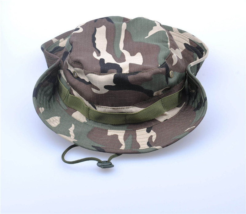 24 Colors Summer Style 2015 Men Women Camouflage Fishing Hat Bucket Gorras Fisherman Carp Fishing Cap