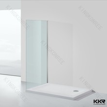 Acrylic solid surface/artificial stone shower tray,shower floor for bathroom