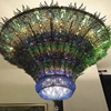 Creative peacock shaped non-standard engineering lamp