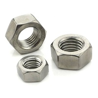 Carbon Steel Stainless Steel 304 316 DIN934 ASTM 18.2.2 Hex Jam Nuts
