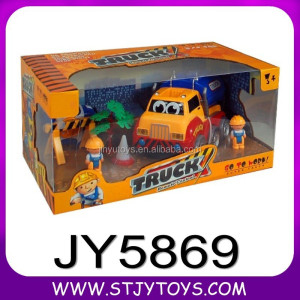 JY5869--A complete suit of 4ch cartoon oil truck rc car