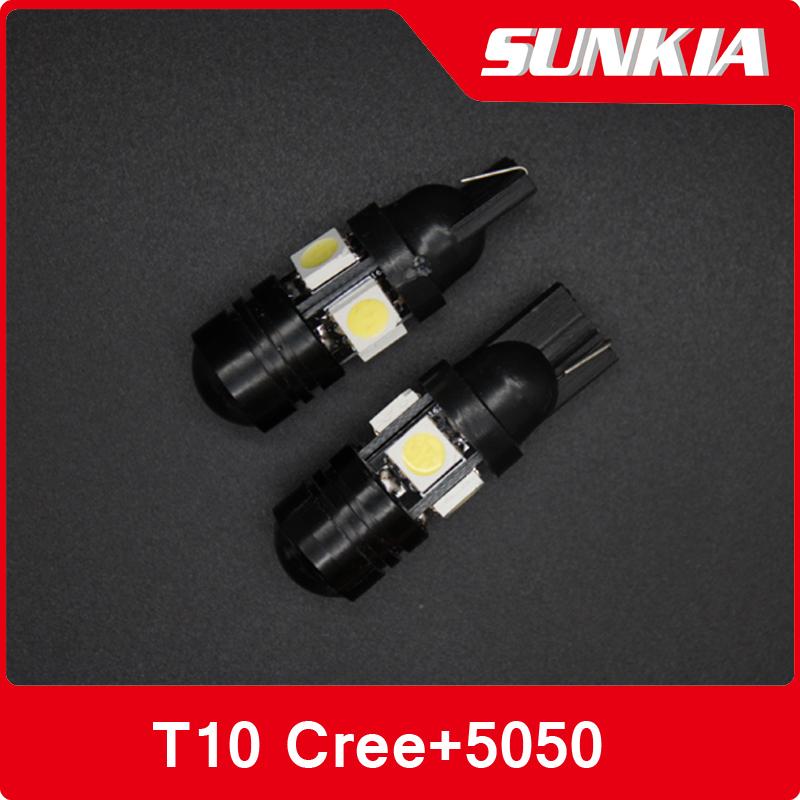 30 шт супер яркость 192 168 T10 w5w из светодиодов 5050 SMD 4 из светодиодов 1,5 Вт автоматический из светодиодов автомобиль лёгкие маркер лампа
