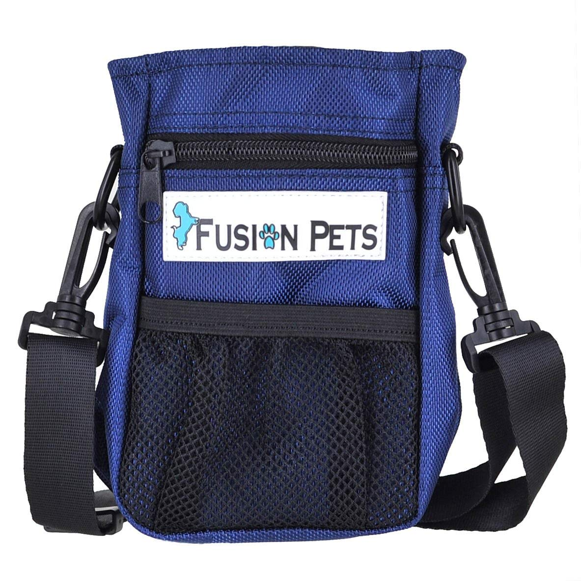 6e7495fbbc Get Quotations · Fusion Pets – Dog Treat Training Pouch – Easily Carries Pet  Toys
