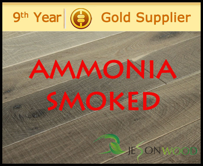 Ammoniak behandeld eiken vloeren en ammoniak gerookt eiken vloeren