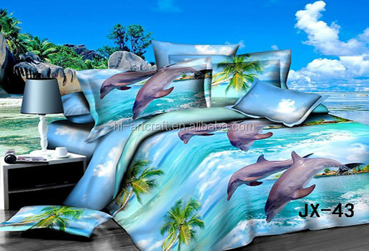 Fancy 3d Made In China Supplier Animal Stock Lot Bed Sheet