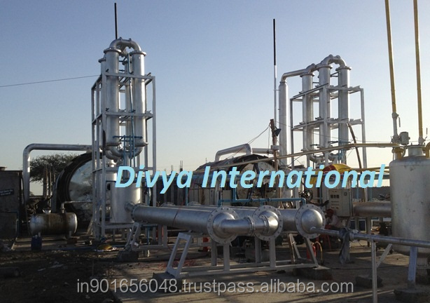 Business proposal of used tyre pyrolysis plant