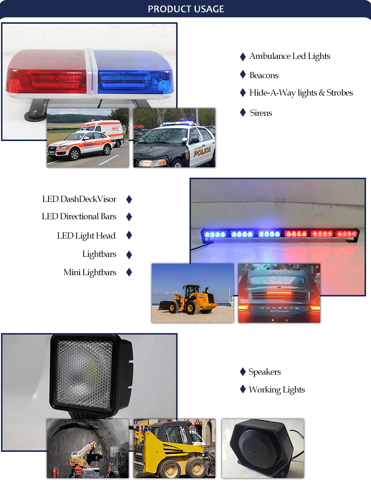 1500mm 59 inch led arrow sticker lightbar traffic advisor controller with display TBE-448-18C4