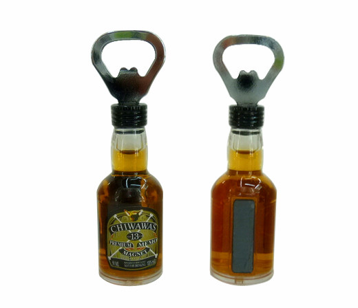 New Style 3D Wholesale Cool Bottle Opener for Bar