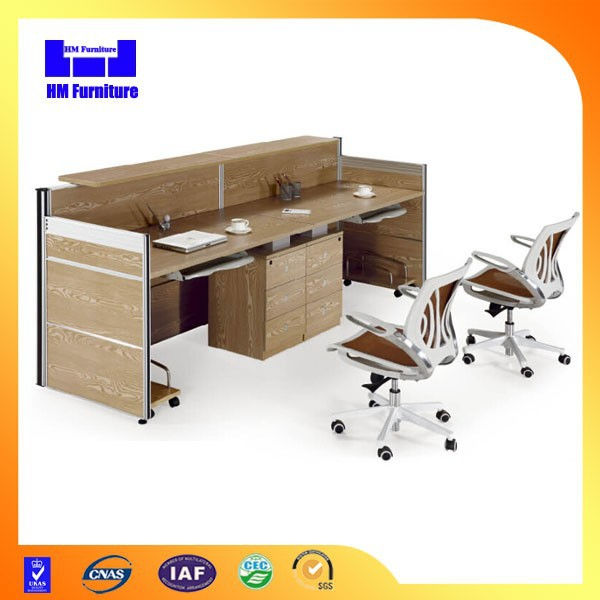 modern melamine wooden 2 person workstation buy 2 person two people office product on alibabacom
