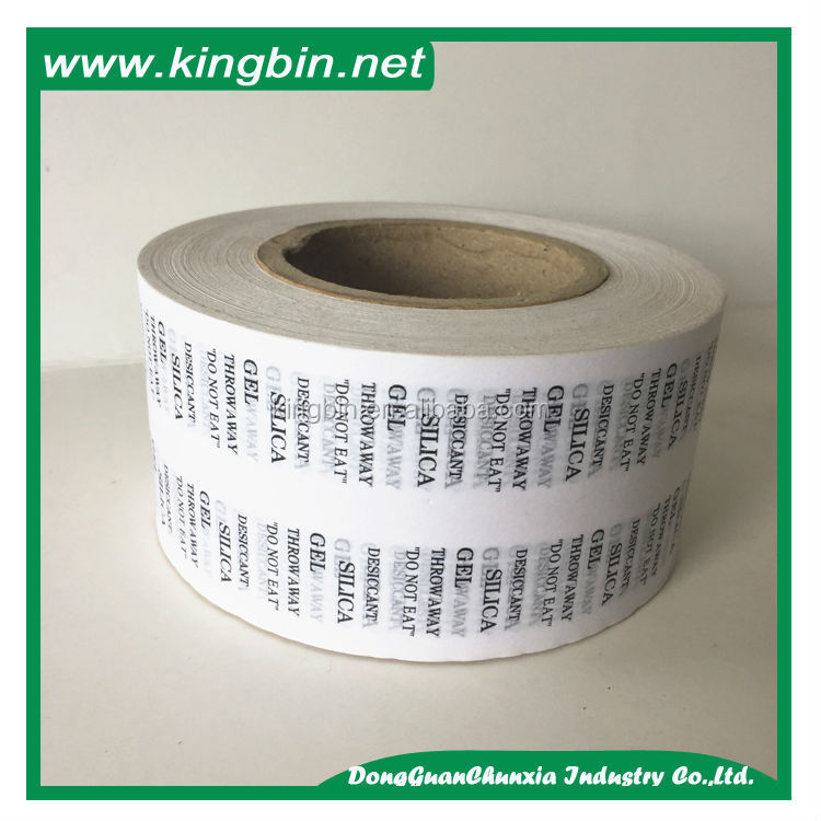 Industrial heat insulation sealing cotton fiber paper desiccant packing paper