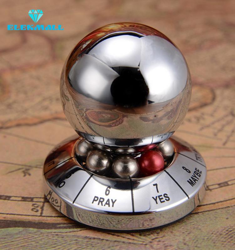 Metal Fidget Spinner Ball Creative Amazing Magnetic Decision Maker Power Balls Miniature Display Toy
