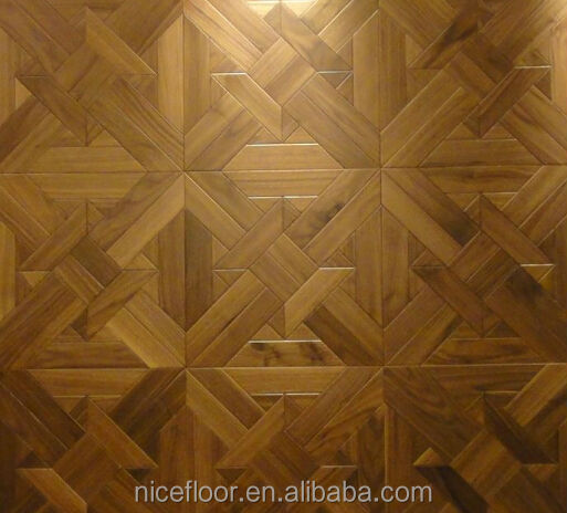 Wooden Design House With Wooden Parquet Solid Wood Flooring