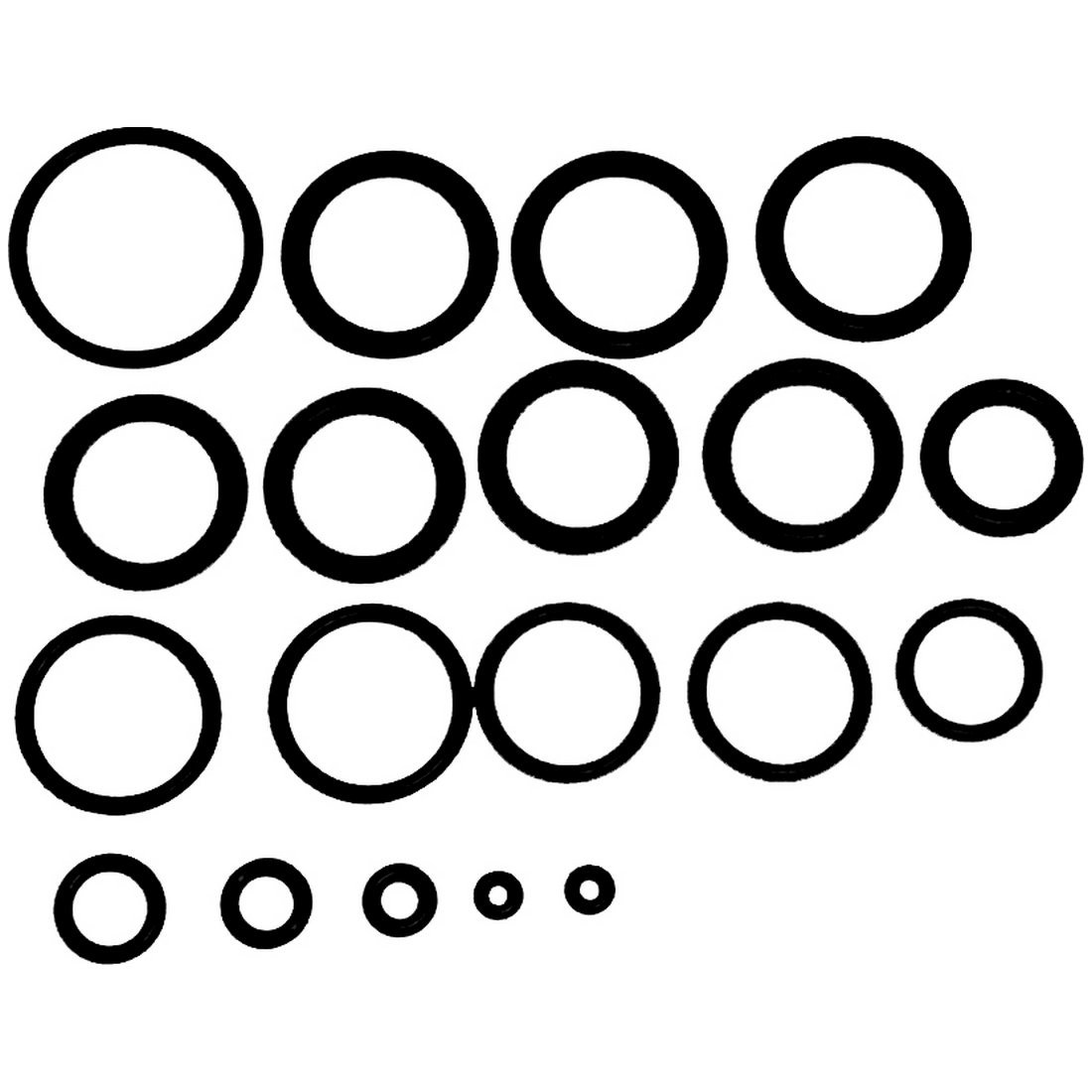 RPM Tech Level Autococker Spares Kit - Most Commonly Needed OEM Orings and Other Pieces