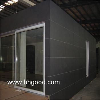 Black Uv Resistant Exterior Hpl Panel Wall Facade Panels