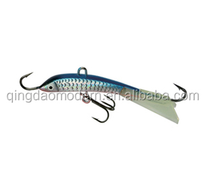 wholesale fishing bait and tackle vertical jig fishing lures ice fishing metal jig