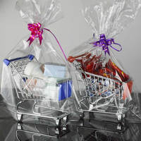 Supermarket promotion gift basket, Metal wire mini basket , Decorative basket