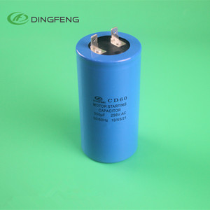 cd60 250uf 250V motor starting capacitor