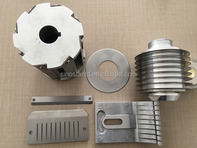 Industriële plastic recycling crusher blades