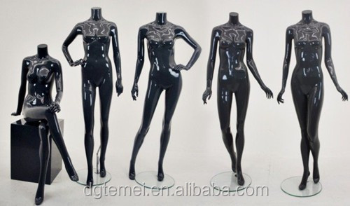 FRP fitting mannequin cheap headless mannequins sexy female full body