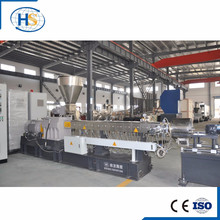 Lab Mini Parallel Twin Screw Extruder Water Cooling Strand Granulator/Conical Twin Screw Extruder for PVC Compounds