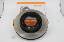 Brake disc 43512-0k070 for TOYOTA FORTUNER and HILUX (VIGO) III 4WD KUN25 KUN26 1KD 2KD 2006