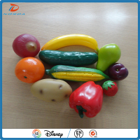 life size custom made vinyl figurine toy fruit sets