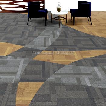 Kommerziellen Pu Mit Bitumenrucken Teppich Fliesen Innen Buro