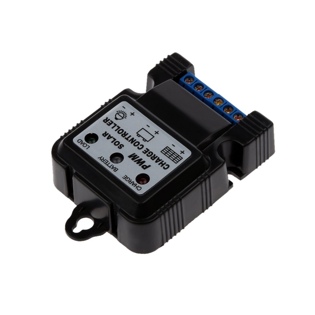 MonkeyJack 6V 12V 10A PWM Auto Solar Panel Charge Controller Battery Charger Regulator Industrial Home