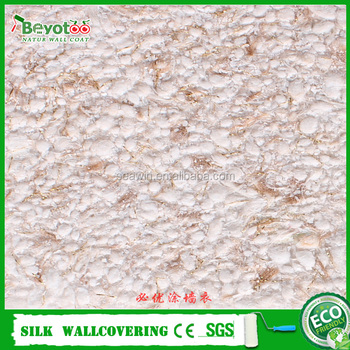 Fibre decor wall covering