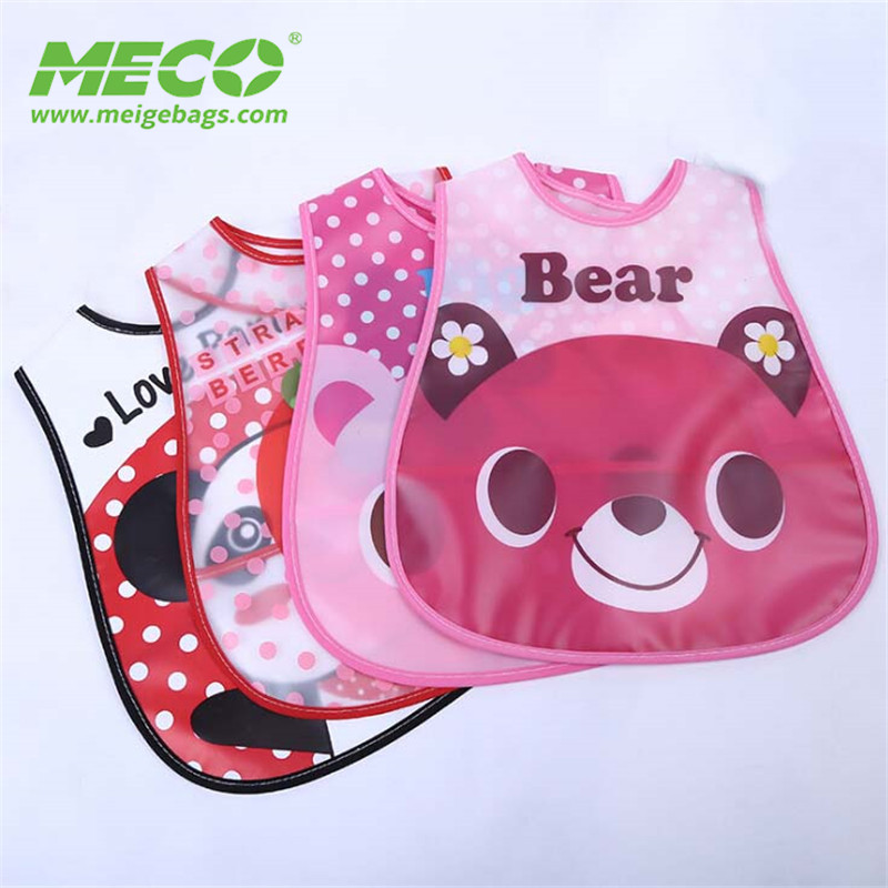 High Quality Custom Color Wholesale OEM Waterproof Baby Bib, Safety Baby Bibs