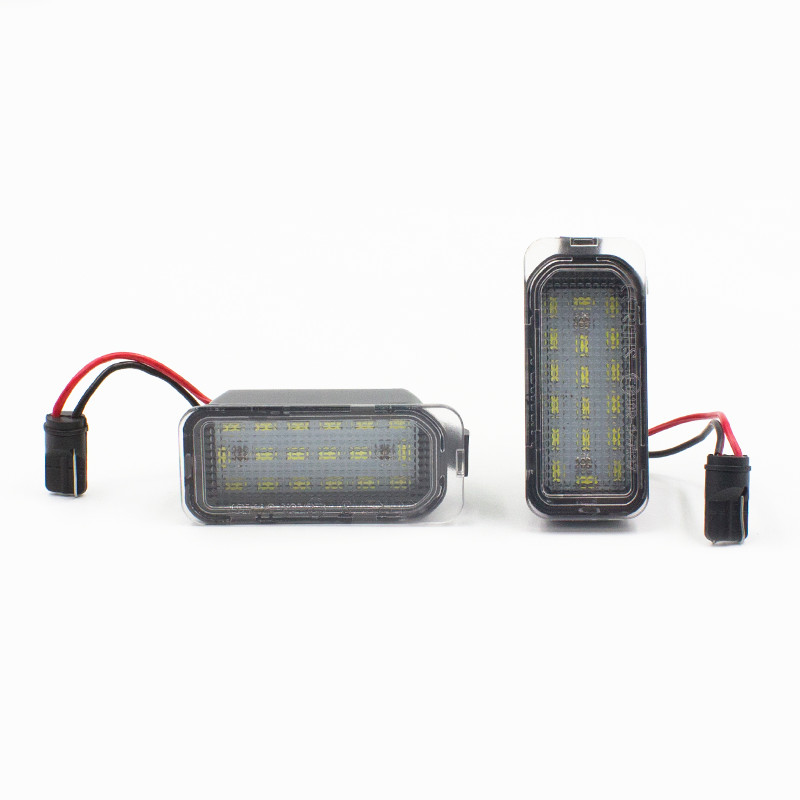 18smd 12V 24V 6500k No error led license plate lamp for <strong>Ford</strong> Fiesta JA8 Focus Mondeo error free led license plate <strong>light</strong>