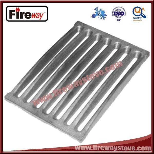 Grate for fireplace parts
