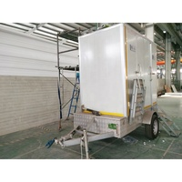High quality Good Price Trailer Portable toilet