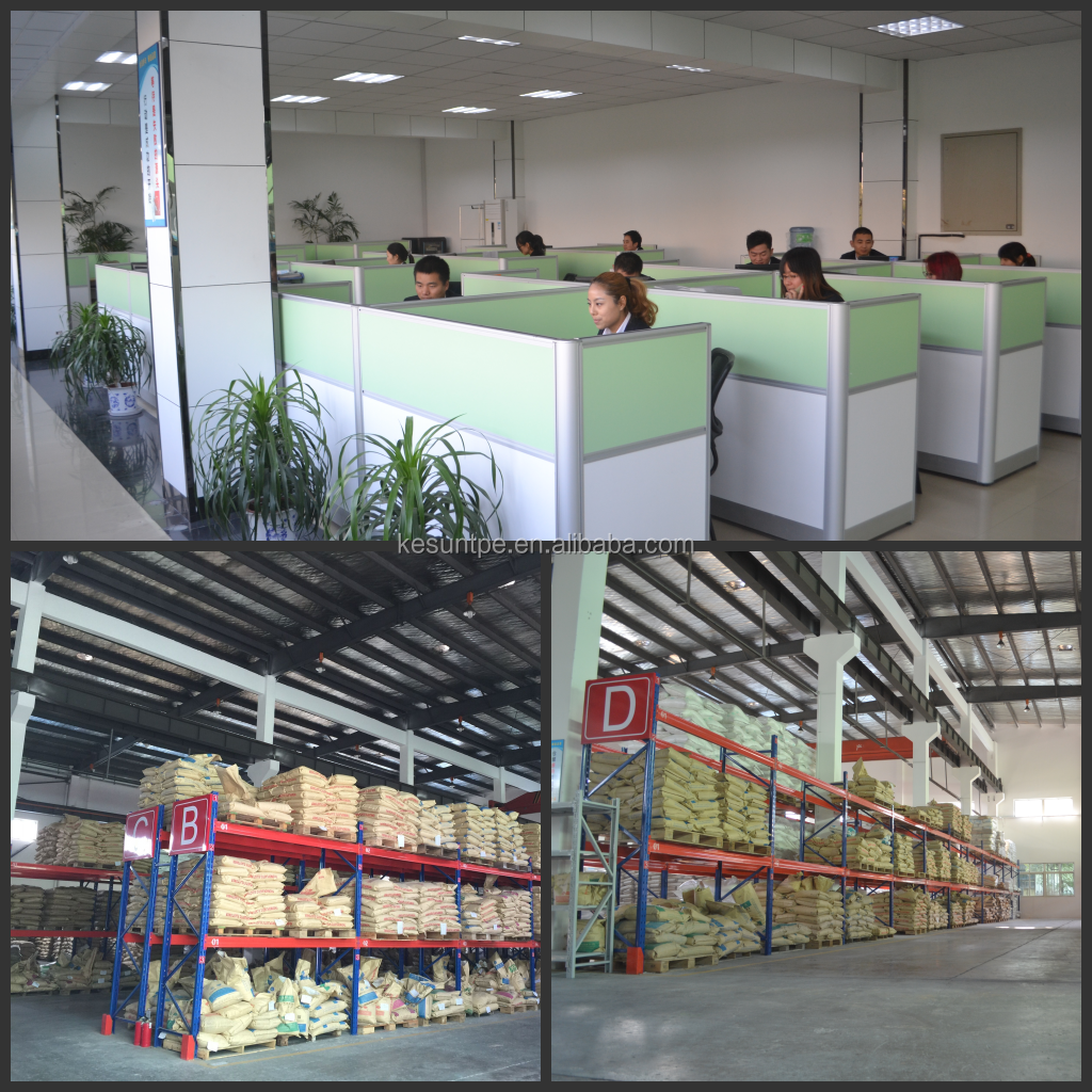 TPR مصنع ISO9001: 2015 SGS بنفايات