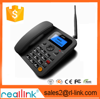 SIM card GSM fixed wireless desktop phone with 2 SIM slot RL230 with TNC antenna