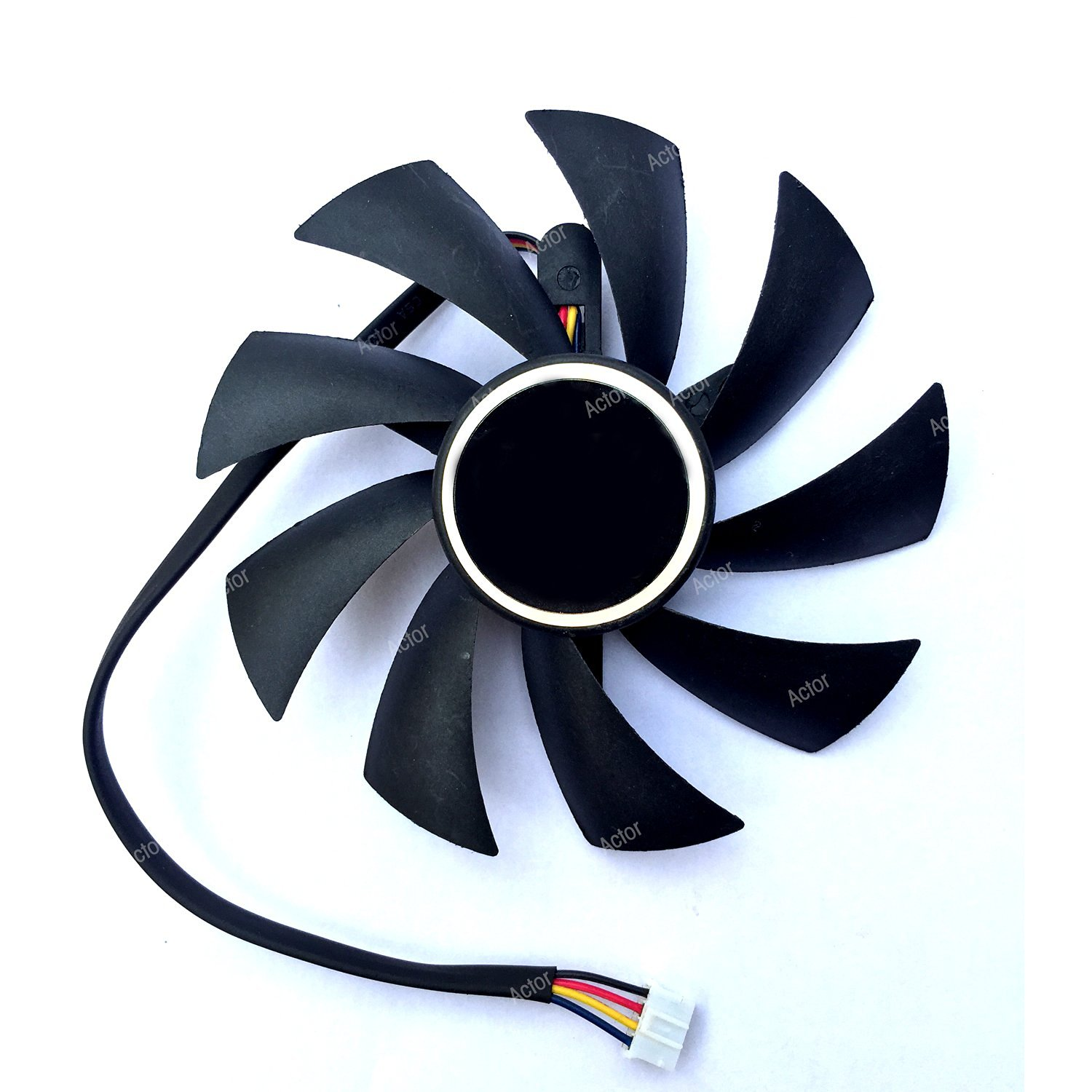 PLA09215D12H DC Graphics Card 12V 0.55A 87mm HD7800 HD7850 HD7870 Cooling Fan 4Wire 4Pin Brushless Cooling Fan Cooler