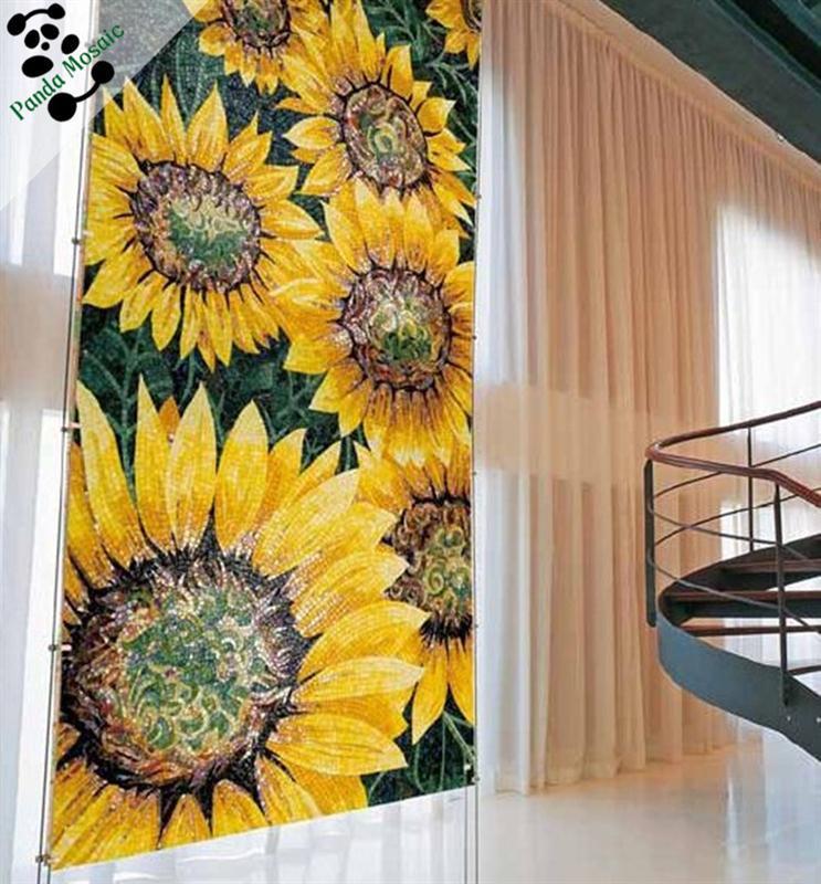 MB SMM133 kitchen wall tile patterns beautiful art mosaic tile glass ...