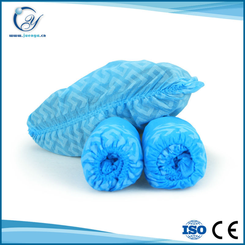 Disposable nonwoven shoes cover