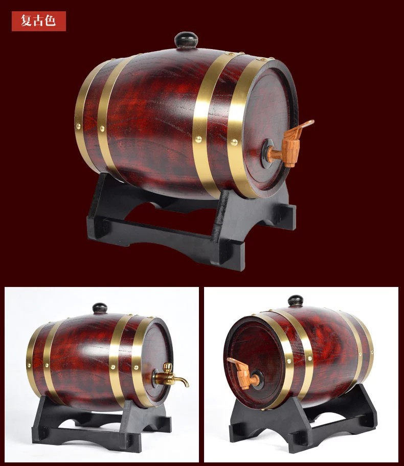Cheap used decorative mini oak wooden wine/whisky/beer barrels for sale , custom used wine