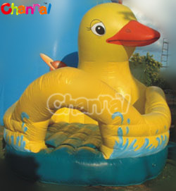 Yellow Duck Inflatable bounce castle/inflatable jumping bouncer