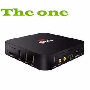 Android 6 0 Desi TV Box V88 High quality V88 1GB RAM 8GB ROM S905X 4K HD