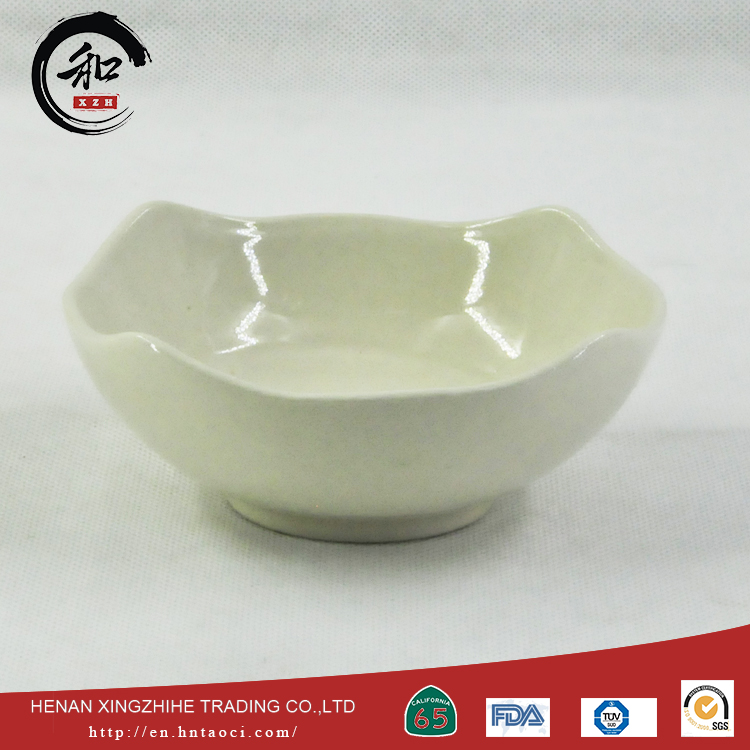 High quality good selling white porcelain tableware bowl