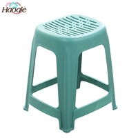 Non-Slip Cheap Stackable Tall Plastic Stool for Dining Room