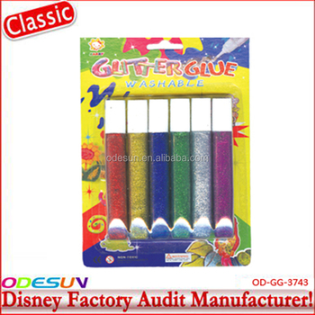 Disney Universele FAMA BSCI Carrefour Fabriek Audit Waterdicht Bulk Glitter Lijm